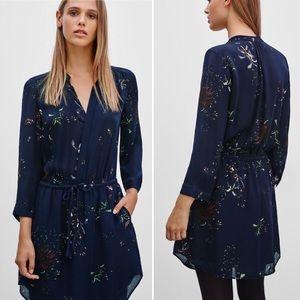 NEW Babaton Silk Bennett Floral Dress